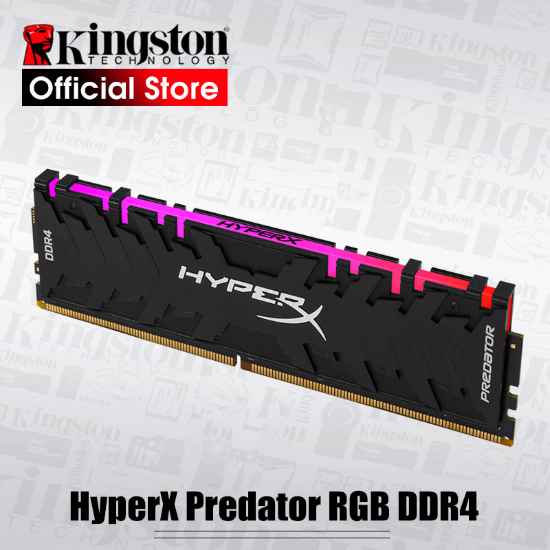 Kingston HyperX Prédateur RGB 8 gb 3000 mhz DDR4 CL15 DIMM 288 broches XMP Memoria Ram ddr4 De Bureau Mémoire béliers pour Ordinateur Jeux Ram