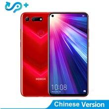Huawei Honor View 20 Mobile Phone Honor V20 6.4 inch Full View Kirin 980 Octa Core Android 9.0 NFC 4000mAh Dual SIM Cell Phone