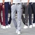 Envío de la venta caliente 2017 nuevo hombre pantalones deportivos masculinos casual sueltos pantalones ocasionales de los deportes pantalones masculinos de la salud pantalones