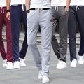 Free shipping hot sale 2017 new man sports trousers male casual loose pants casual sports pants sports pants male health pants