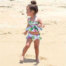 Toddler Kids Baby Girls BIkini Set Swimwear Swimsuit Bathing Suit Beachwear AU