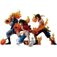 Een Stuk Figuur Ace Luffy Sabo Action Figure Een Stuk AANVAL STYLING Figuur PVC Cartoon Beeldje Een Stuk Speelgoed Juguetes