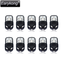 2017 new Free shipping NEW 10pcs 433MHz wireless black metal remote alarm High quality Home security alarm FOR GSM Alarm System