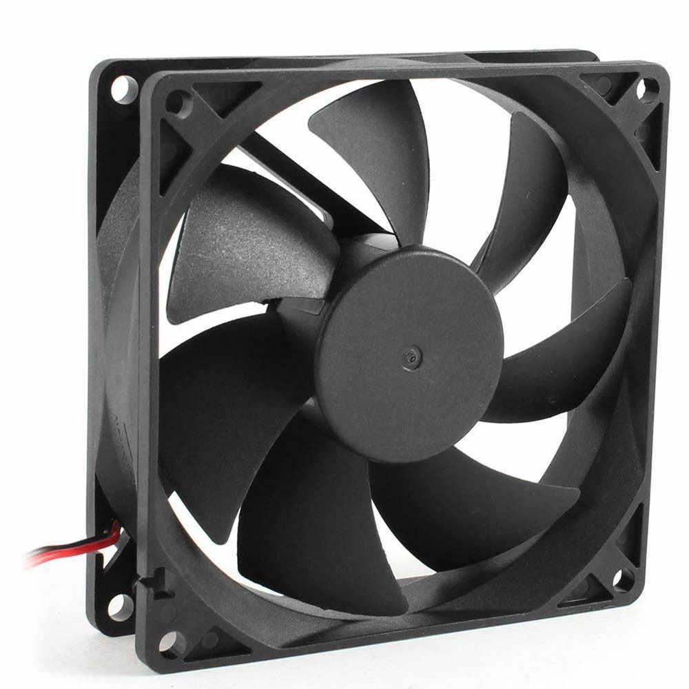 Silencieux 8 cm/80mm/80x80x25mm 12V ordinateur/PC/CPU silencieux ventilateur de refroidissement O.18