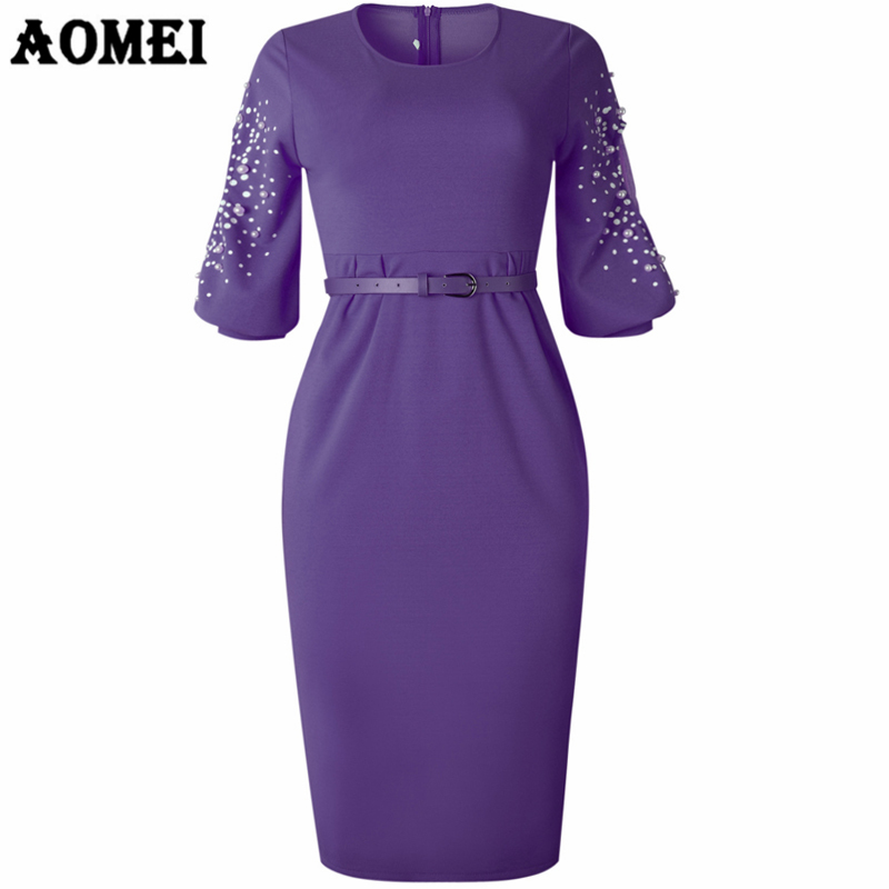 Women Dress Tight Elegant Ladies Officewear Slim Sleeve Patchwork Mesh Evening Party Tunic Femme Package Hip Robe Autumn Clothes