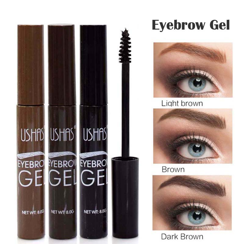 2017 Brand New Eye Brow Makeup Lasting Lasting Natural Pigment Coffee Brown Waterproof Color Henna Eyebrow Wascara