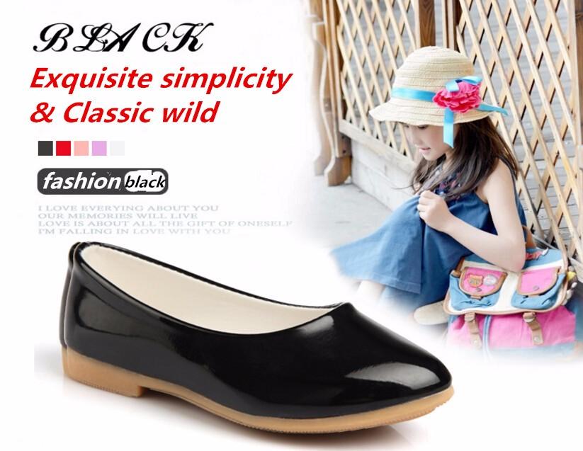 girl leather shoe-12