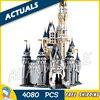4080pcs Movie Cinderella Princess Castle City Street Creators 16008 Friends DIY Model Building Blocks Toys Compatible