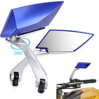 1 Pair Universal Motorcycle Mirror 10mm 8mm Motorbike Rear View Mirrors For Yamaha For Honda For