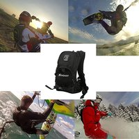 SHOOT Selfie Backpack Quick Assembly Guide Sports Bag for GoPro Hero 6/5/4/3+/3 xiaoyi SJ Cam Action Camera for Bicycle Shooting