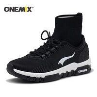 ONEMIX running shoes men outdoor walking shoes Couple high top sneakers boots Multifunction trekking sneaker men Free shipping