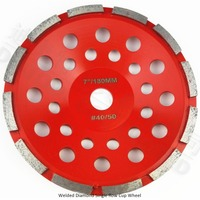 Diameter 180MM Diamond Single Row Cup Wheel For Concrete Masonry Diamond Grinding Wheel Bore 22 23mm
