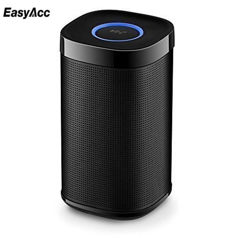 easyacc 4 0 bluetooth speaker box portable wireless hifi subwoofer loud sound square box for. Black Bedroom Furniture Sets. Home Design Ideas