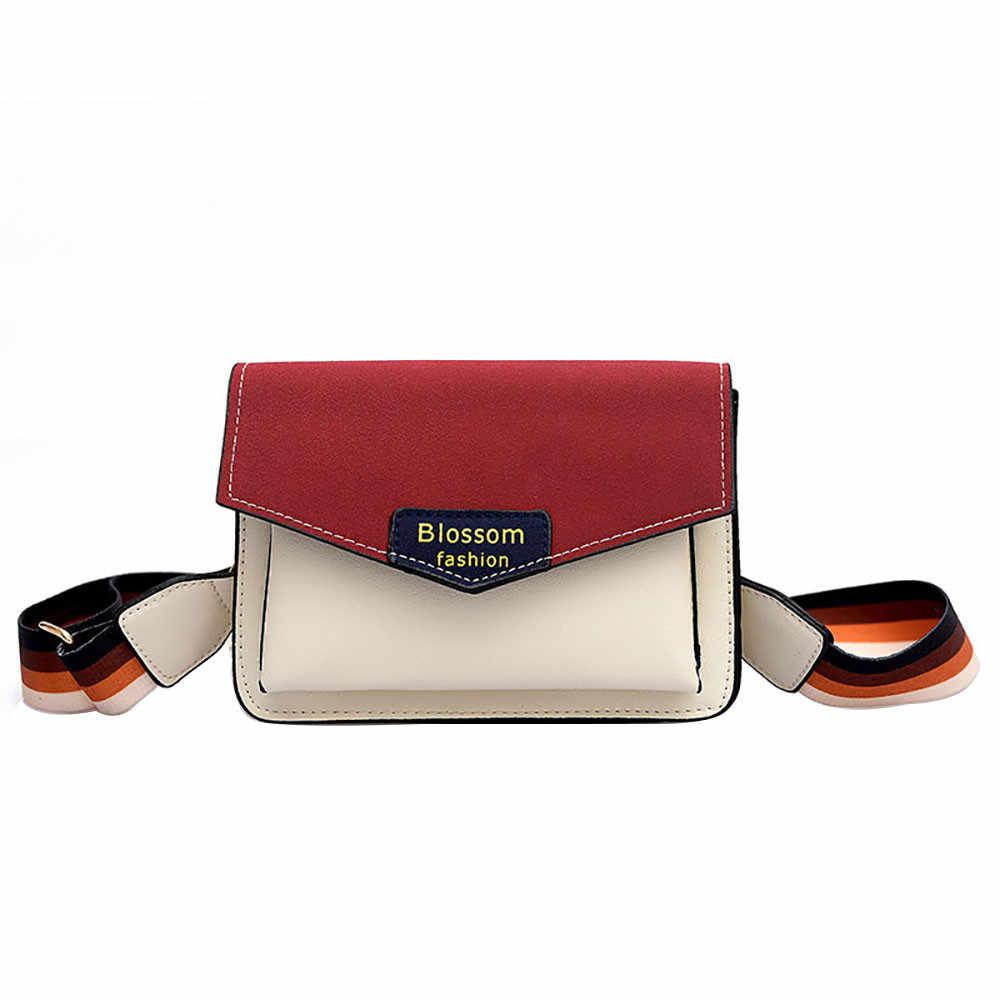... OCARDIAN Shoulder Bags Women Joker Color Single Shoulder Slung Multi-layer  Wide Shoulder Strap Bag ... 8f228286fc9ba