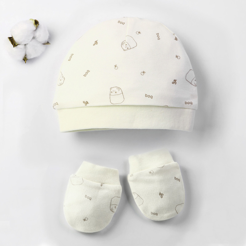 Осенне-зимние детские шапки и варежки для девочек и мальчиков, кепки, носки, удобные детские шапки и перчатки, хлопковые аксессуары для новорожденных детей 0-3 лет