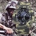 Top Marca Mens Sports Relógios LED Digital Relógio de Pulso dos homens de Moda Ao Ar Livre À Prova D' Água Relogio masculino Camuflagem Presentes