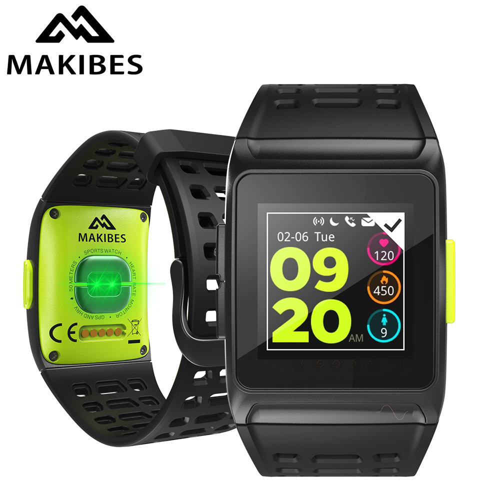 Makibes BR1 gps спортивные часы Смарт часы Bluetooth Strava Цвет Экран мультиспорт наручные Для мужчин Для женщин Фитнес Часы Smartwatch