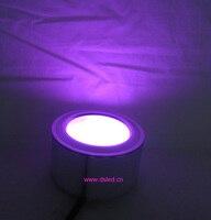 Ad alta potenza, di buona qualità, 9 w rgb ha condotto il downlight, rgb ha condotto la luce da incasso, DS-02-7-9W-RGB, 3x3 w rgb 3in1, 12 v dc, anni di garanzia