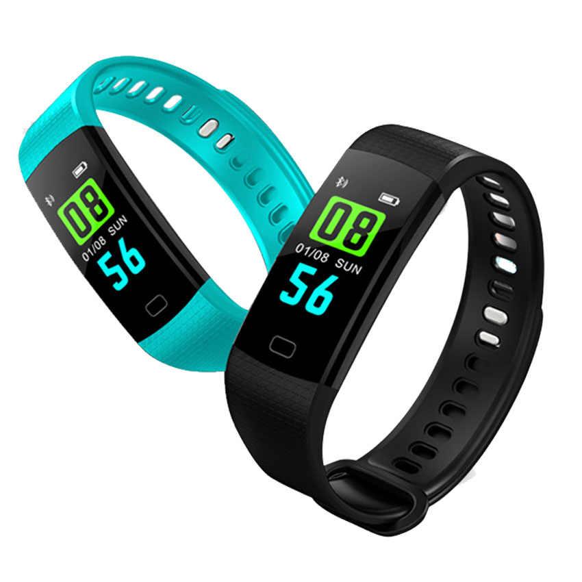 لون حقيقي ساعة ذكية النساء/الرجال/الاطفال Reloj ذكي HR BP Smartwatch لابل/شياو mi/سامسونج PK mi الفرقة 4/صالح بت 5