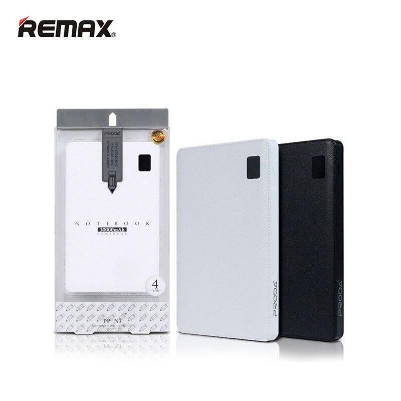 Original Remax 30000 mAh 4 USB Mobile batterie externe chargeur de batterie externe universel pour Huawei iPhone Samsung Xiaomi tablettes - 6