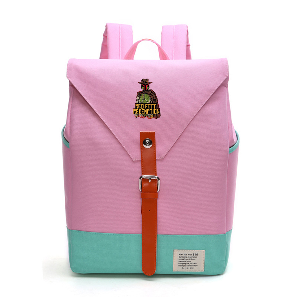 Red Dead Redemption Backpack Harajuku Rucksacks British flag For Lady Girls Hot Game lover 2019 New Backpacks Fashion Bags