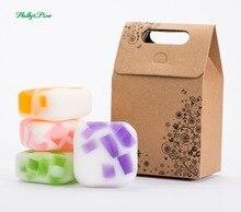 4X100g handmade soap , essential oil, moisturizing, nourishing,brightening skin, oil control ,anti-winkle,Christmas gift nourishing oil