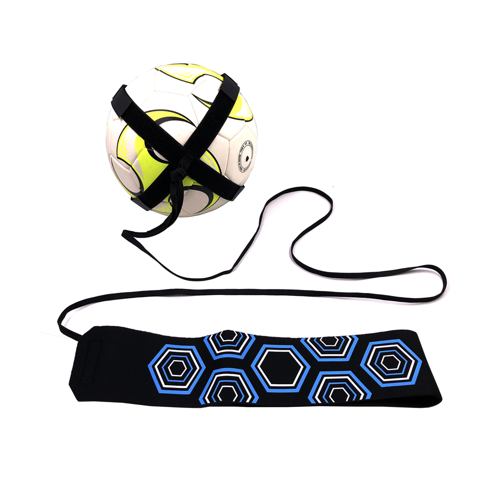 Soccer Trainer Football Kick Throw Solo Practice Training Aid Control Skills Adjustable equipment ball bags gift accesorios