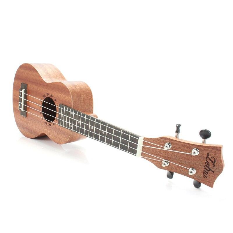 Hot 21 pouces 15 frettes Soprano ukulélé guitare Sapele palissandre hawaïen 4 cordes Guitarra guitare Instruments de musique pour débutants