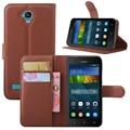 Цветные Littch Стиль PU Leather Case Cover для Huawei Y560 Y5 Бумажник Стенд Телефон Обложка Case Mobilskal