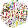 48pcs Hot Water Transfer Designed Nail Sticker Blossom Flower Colorful Full Tips Stamp Decals Nail Art Beauty A049 096SET