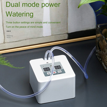 DIY Micro Automatic Drip Irrigation System 5~10 Pots Self Water Indoor Sprinkler USB Charging Garden Watering