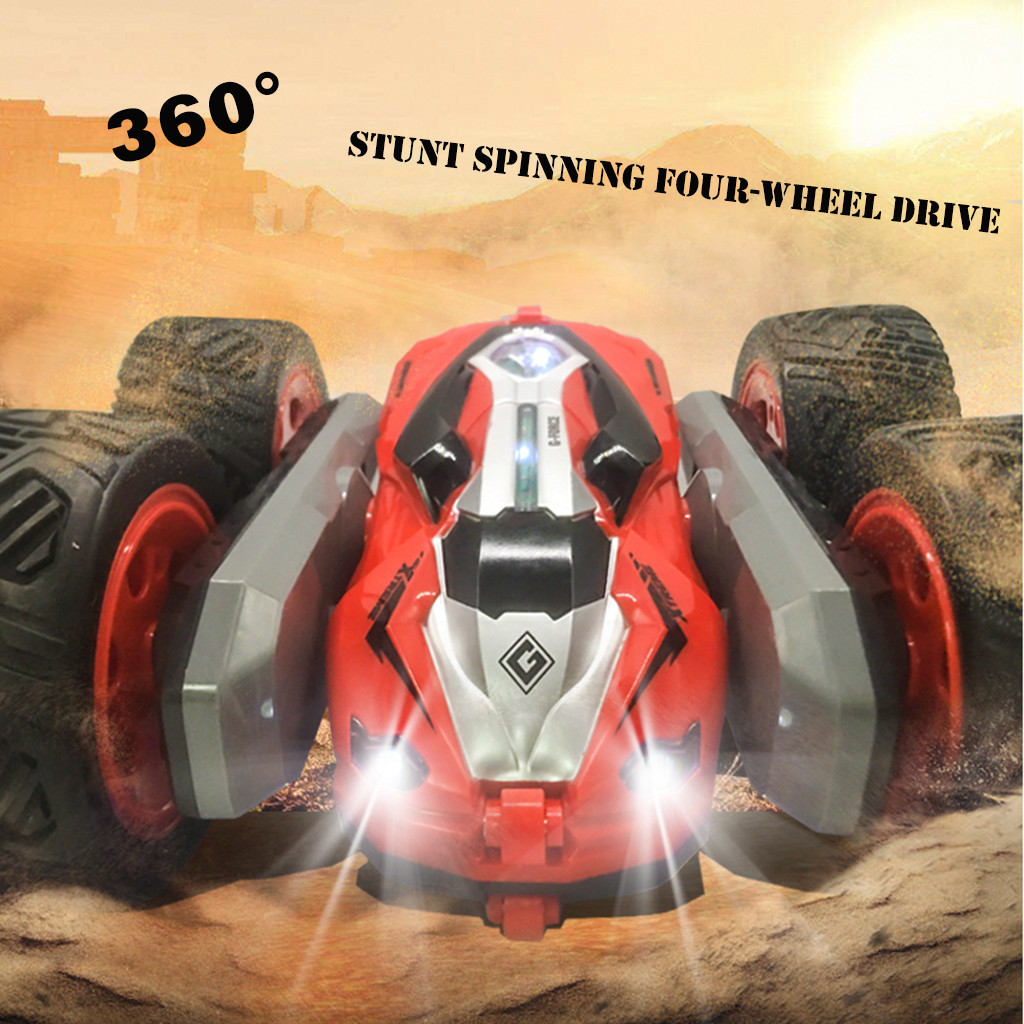2019 Radio-controlled Cars 1/28 RC Luminous Stunt Car Remote Control 360 Degrees Rotation Childrens Gift Children Games2019 Radio-controlled Cars 1/28 RC Luminous Stunt Car Remote Control 360 Degrees Rotation Childrens Gift Children Games