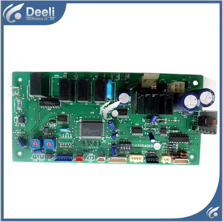 95% new good working for Mitsubishi air conditioning Computer board PJA505A023 AT  PJA505A023AJ control board 95% new for haier refrigerator computer board circuit board bcd 198k 0064000619 driver board good working