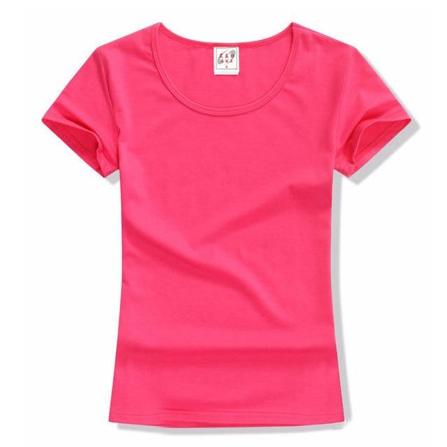 2017 A3 D'Été Top Femmes T Shirt Tendance De Mode De Couleur Pure