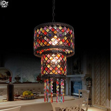 Exotic style retro nightclub fixture Western Cafe Bar entrance Art Light Pendant Lights wwy 0412