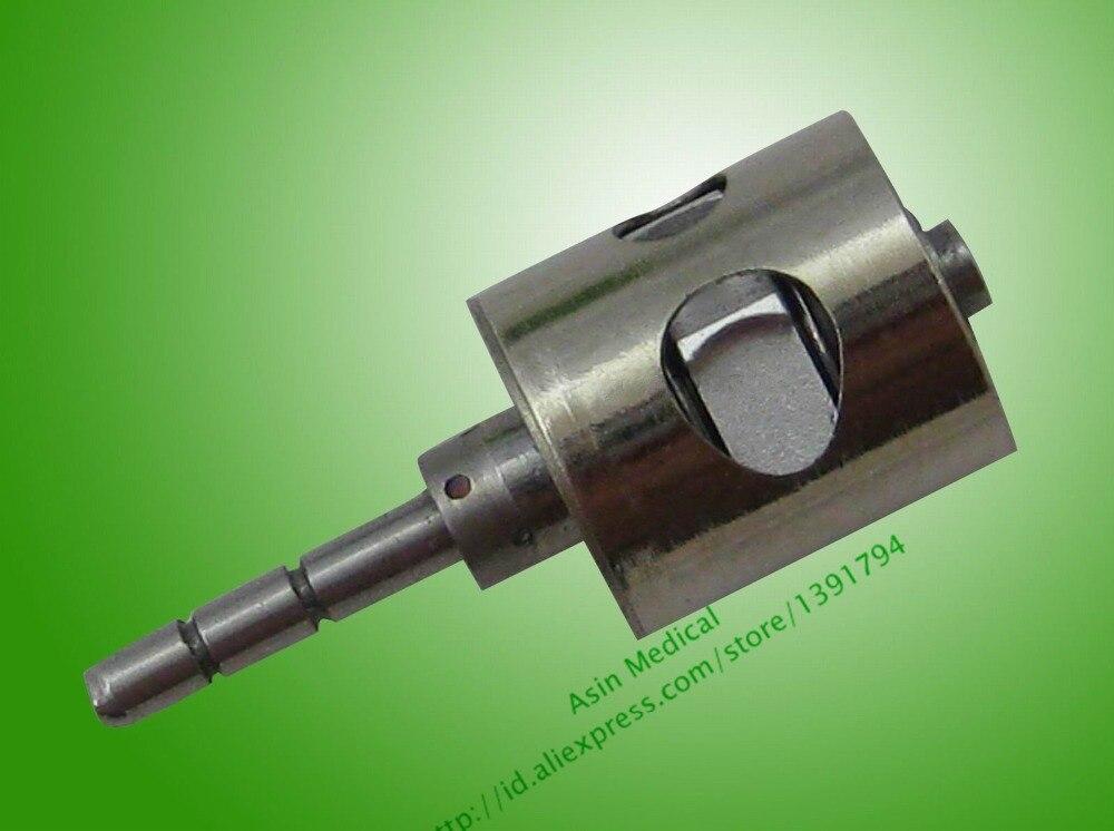 2x Hochgeschwindigkeits-Dentalhandstück-Drucktastenturbine MINI Head kompatibel mit PANA AIR NSK
