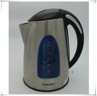 1.7L Stainless Steel Electric Water Kettle Electric Boil Tea Kettles Automatic Power Off