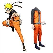 Naruto Cosplay Kostuums Anime Naruto Outfit Voor Man Show Past Japanse Cartoon Kostuums Naruto Jas Top Broek Volwassenen