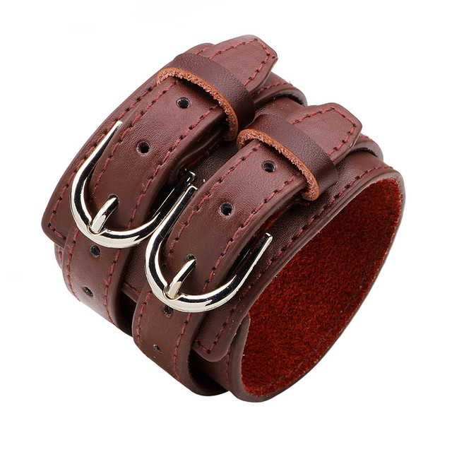YOBEST Double Belt Leather...