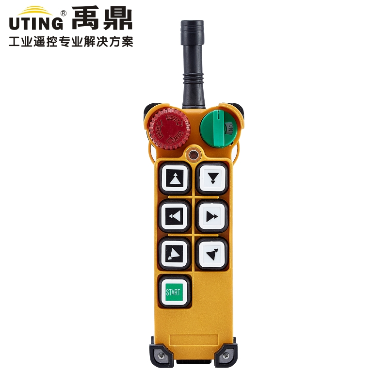 Telecontrol F24 6D wireless radio remote control hoist crane transmitter