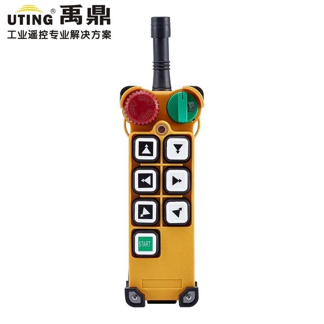 Telecontrol uting F24 6D 무선 라디오 원격 제어 송신기 호이스트 크레인