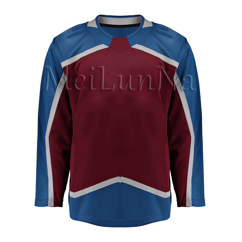 Gabriel Landeskog Nathan MacKinnon Erik Johnson Mikko Rantanen Samuel Girard Cale Makar Men Women Youth Colorado Hockey Jerseys