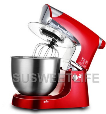 5L Stainless Steel Bowl 1000W Household Kitchen Electric Food Stand Mixer Egg Whisk Dough Cream Blender Appliance
