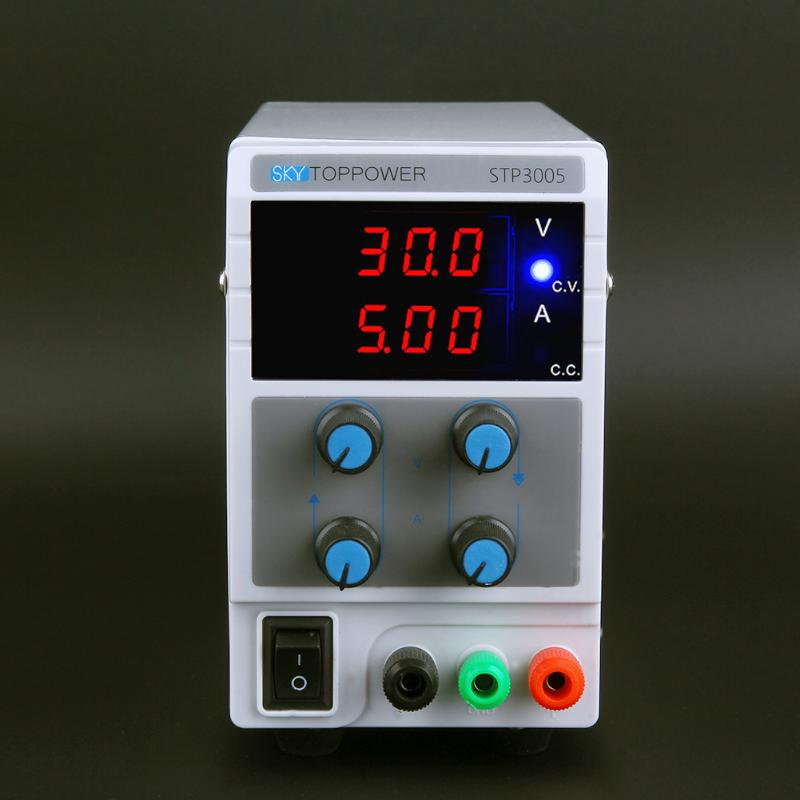 0-30V 0-10A Adjustable DC Power Stabilizer with 3 Digit Display AU Plug Home Electrical Equipment Supply