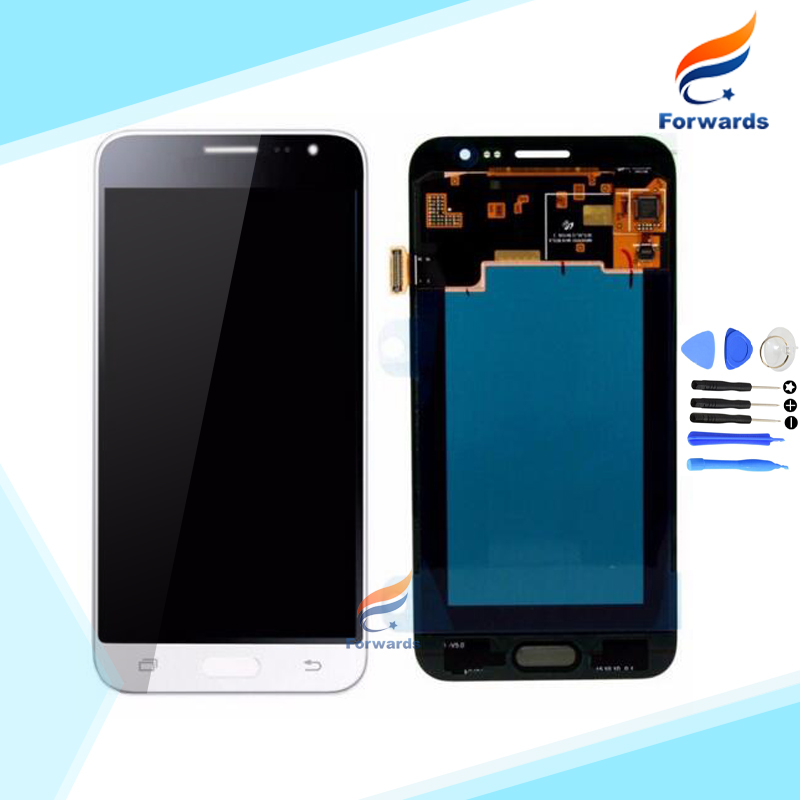 ФОТО 2016 Brand New LCD for Samsung Galaxy J3 J320 J320F J320P J320M J320Y Screen Display with Touch Digitizer 1 piece free shipping