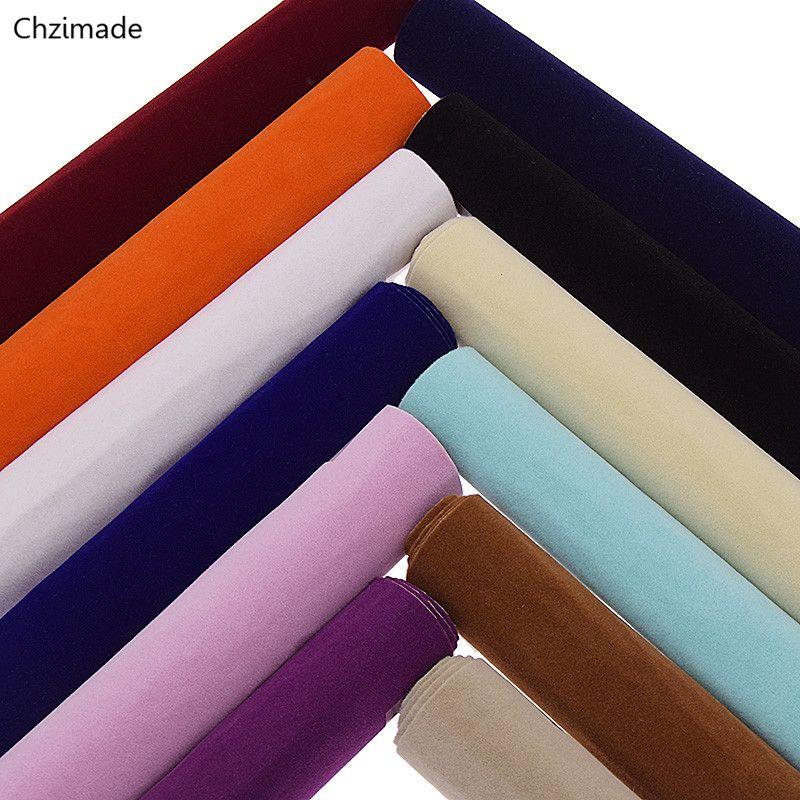 Chzimade 29x21cm A4 Self Adhesive Velvet Fabric High