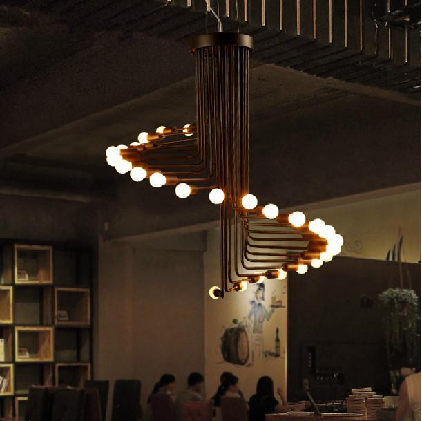 loft retro creativo e bombilla de edison lmpara colgante decorativo para el dormitorio restaurante bar caf saln comedor sal