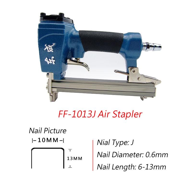 Air Stapler FF 1013J Framing Nail Gun For Width 10mm Code Nail 6 ...