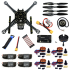 DIY RC FPV Drone S600 4-Axle Frame Kit with APM 2.8 Flight Control 40A ESC 700KV Motor GPS XT60 Plug Quadcopter