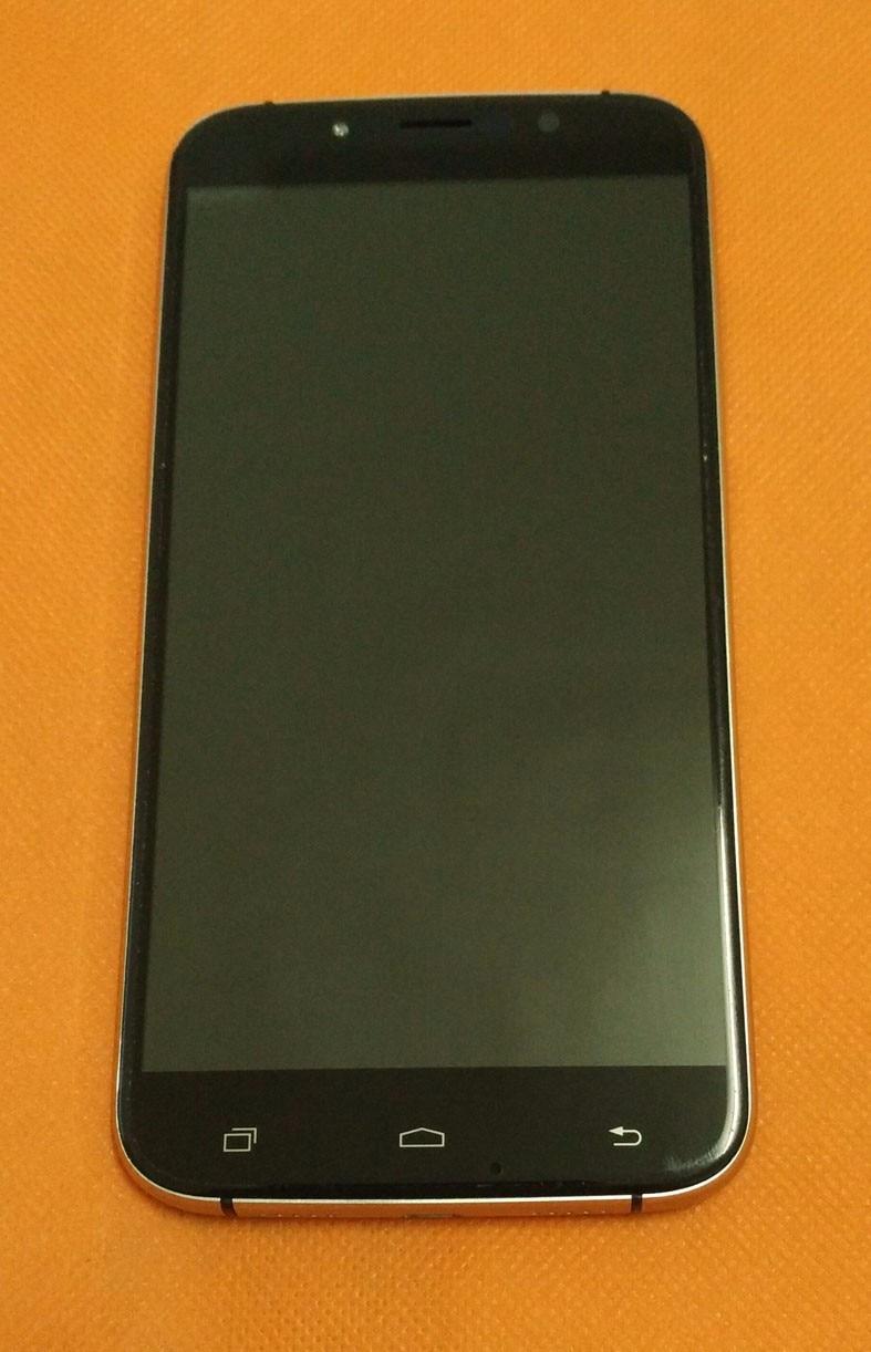 Utilisé LCD D'origine Display + Digitizer Écran Tactile + Cadre pour UMI Rome X MTK6580 5.5 pouce 1280x720 HD Quad Core Livraison gratuite